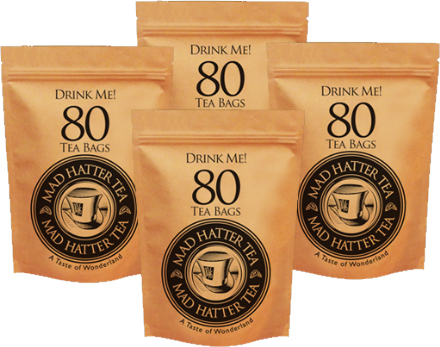 Mad Hatter: Teabags 80s Retail Multipack 4x250g